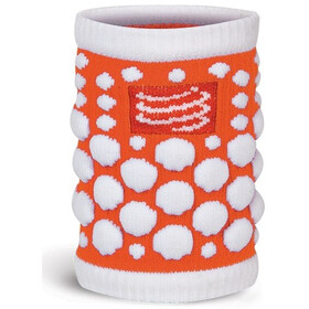 Compressport 3D Dots - Collants - orange/blanc